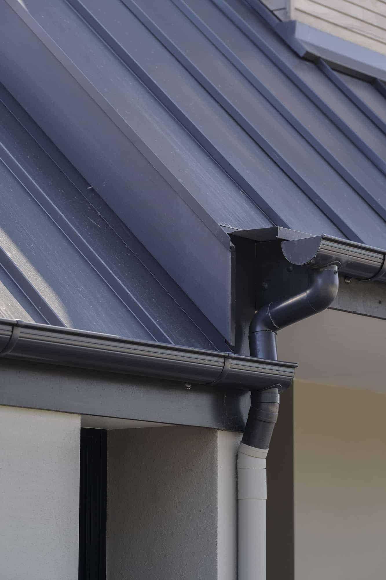 Snaplock Roofing & Guttering Detail