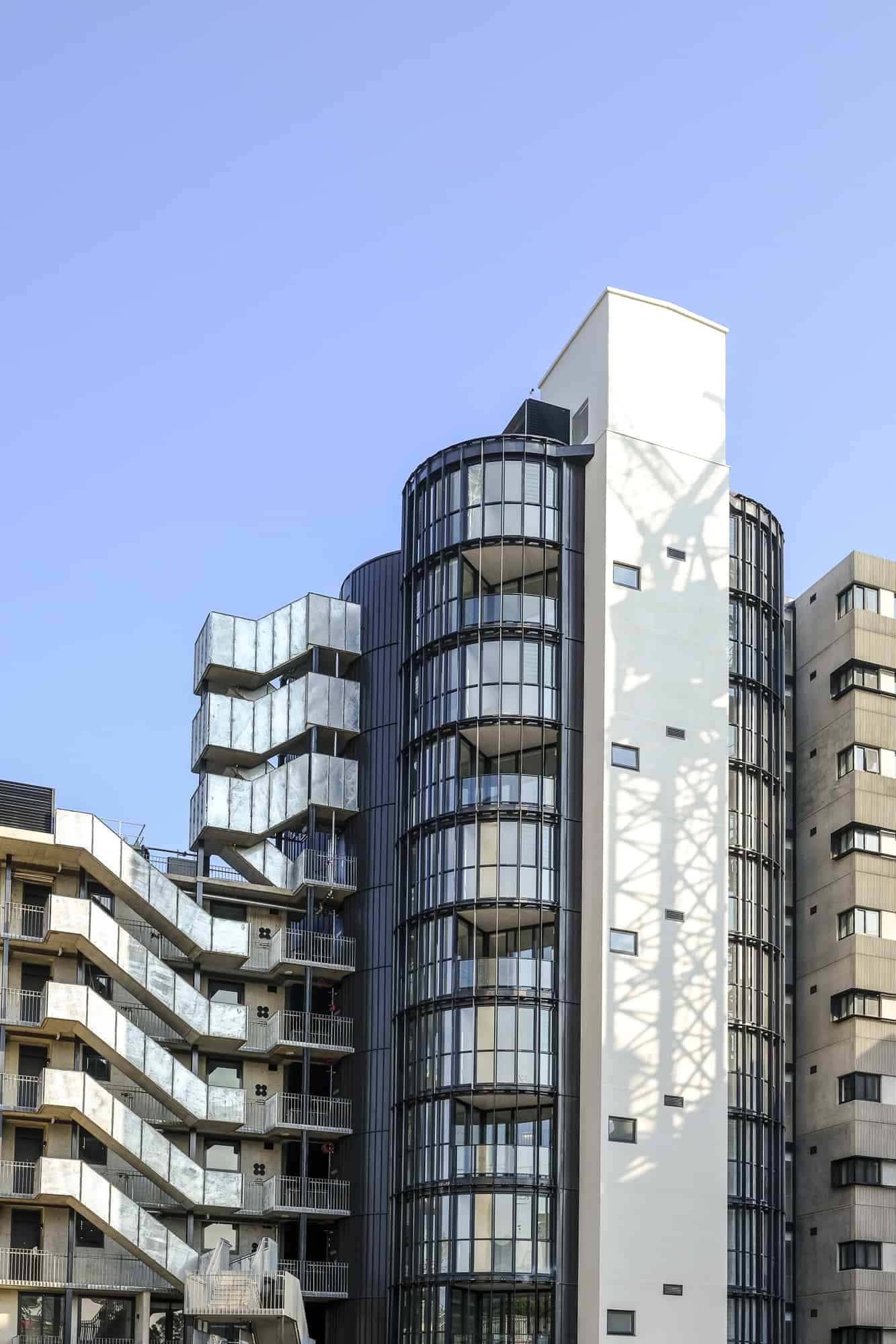 Nailstrip Panels Adds a Futuristic & Modern Touch On Any Building