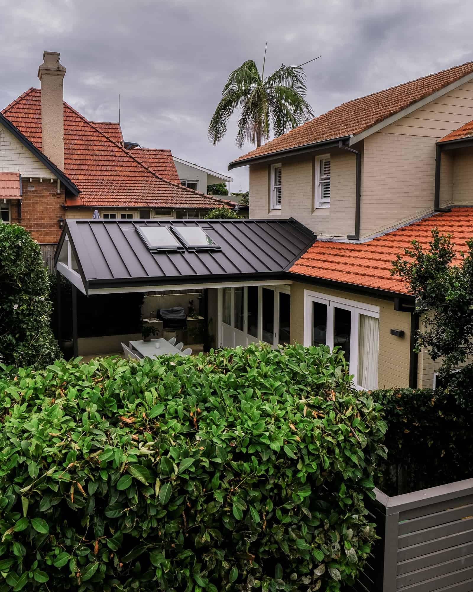 Snap-Line45® On Mosman Pergola Roof