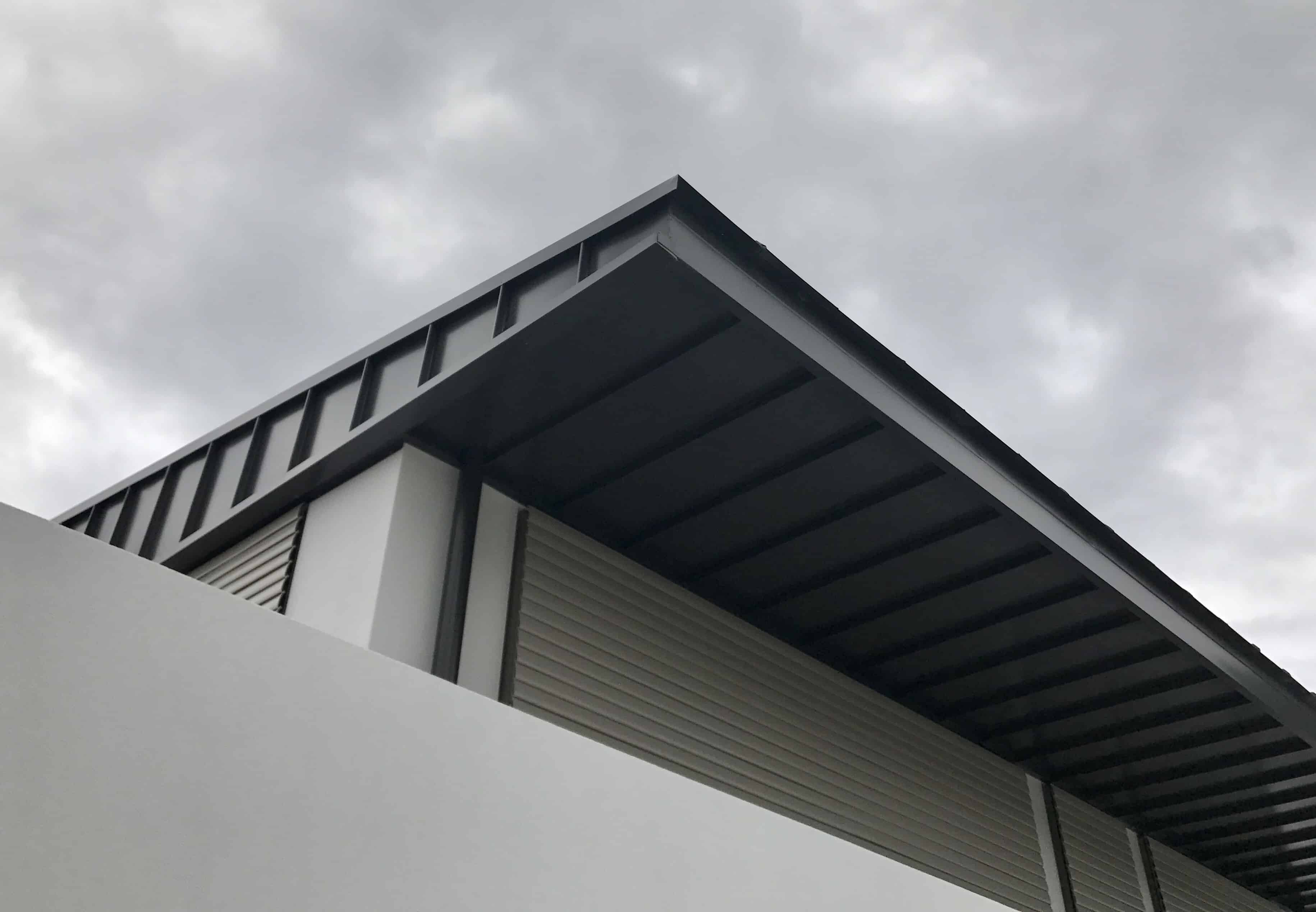 The Sharply Defined 45mm High Ribs Gives These Panels A Special Character