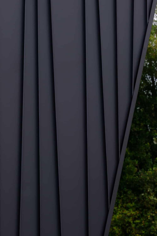 Custom Tapered Standing Seam in Sleek Matt Monument