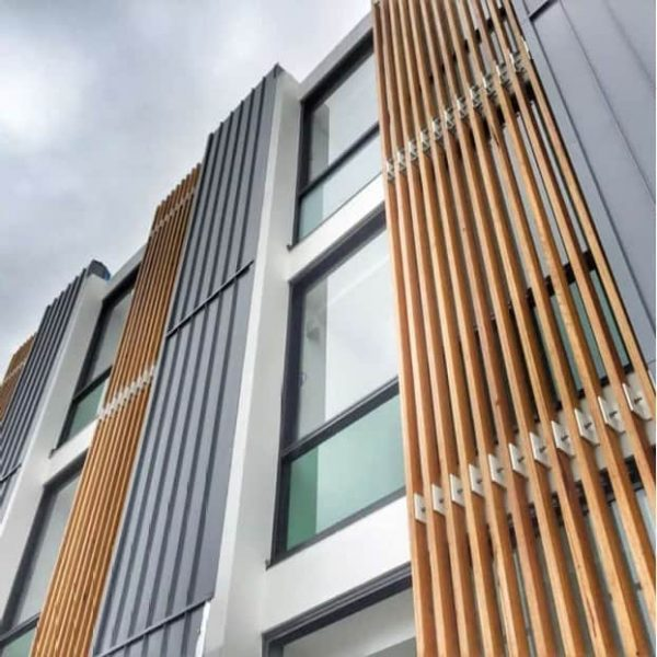 GreyNailstrip Adds a Modern Touch To The Building